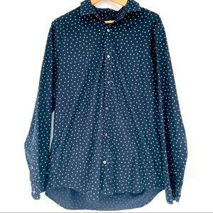 Banana republic non-iron slim fit button up shirt